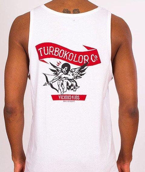 Turbokolor-Cupid Tanktop White SS16