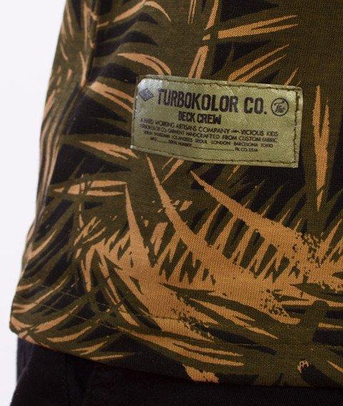 Turbokolor-Deck Tank-top Palm Muster Camo