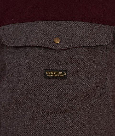 Turbokolor-Freitag Jacket Brown Grey