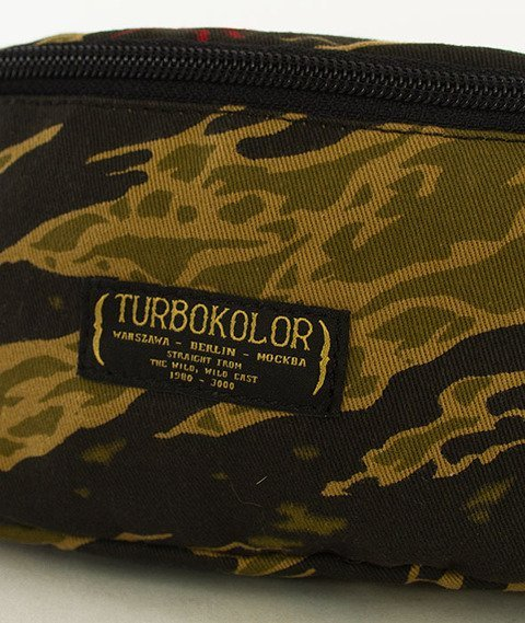 Turbokolor-Hip Bag Tiger Camo SS16