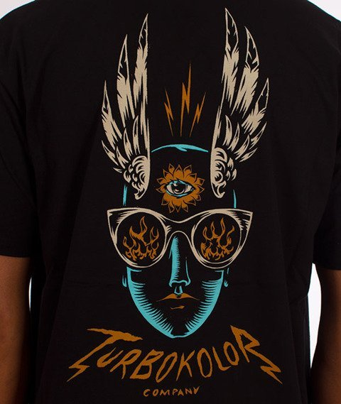 Turbokolor-Infinity T-Shirt Black