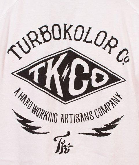 Turbokolor-Lightning Longsleeve White