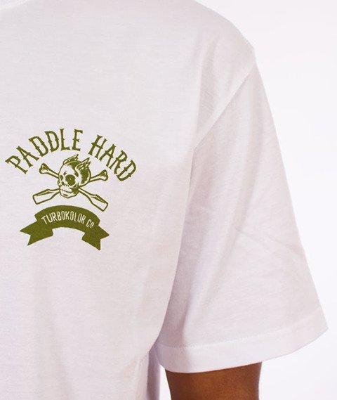 Turbokolor-Paddle Hard T-Shirt White