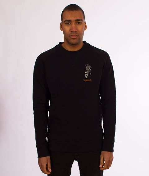 Turbokolor-Petrol Crewneck Black
