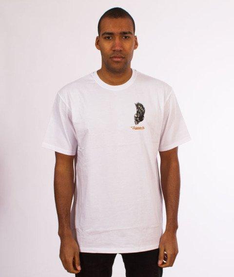 Turbokolor-Petrol T-Shirt White