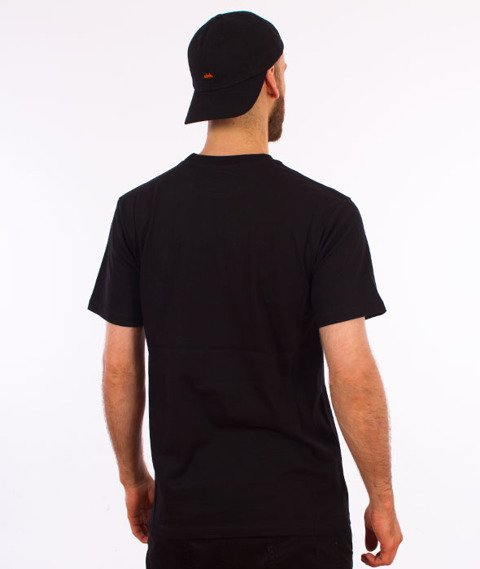Turbokolor-Rose T-Shirt Black
