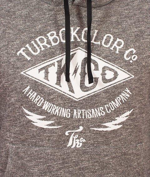 Turbokolor-TK Hoody Bluza Kaptur Heather Grey