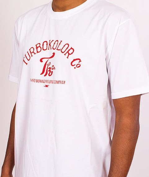 Turbokolor-Team T-Shirt White SS16