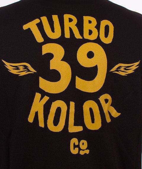 Turbokolor-Track Top Vintage Bluza Black