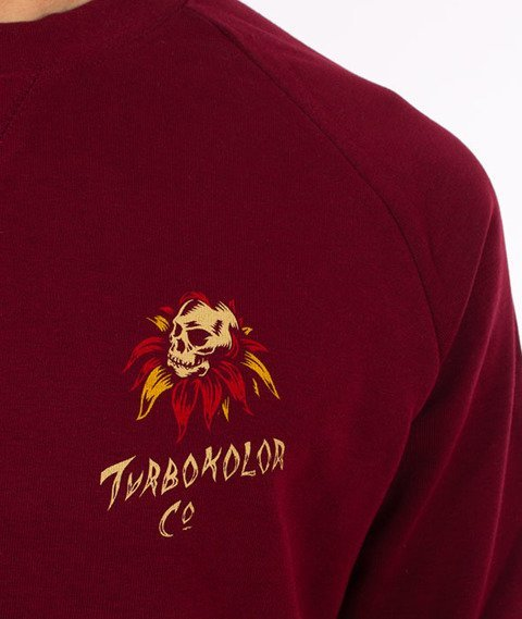 Turbokolor-Trust Crewneck Burgundy
