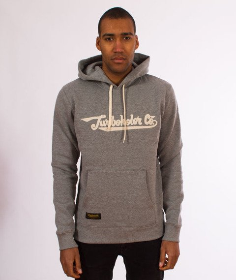 Turbokolor-Union Hood Bluza Kaptur Grey
