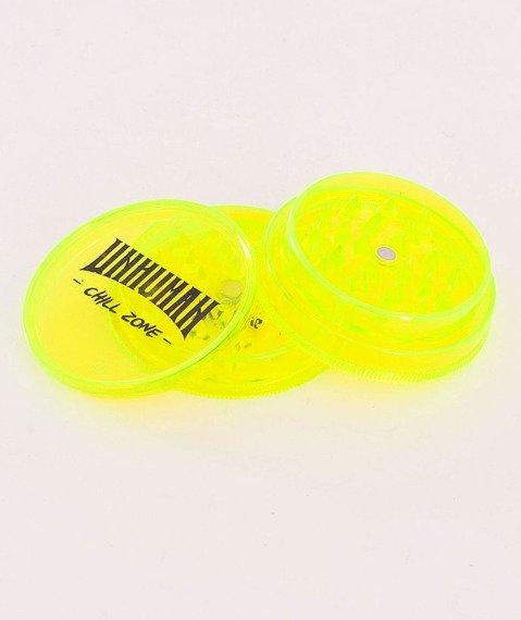 Unhuman-Chill Zone Młynek Akrylowy Żółty