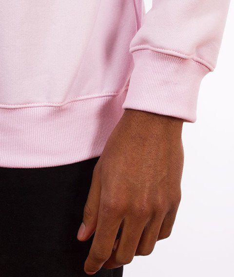 "Unhuman-Classic ""U"" Crewneck Bluza Różowa"