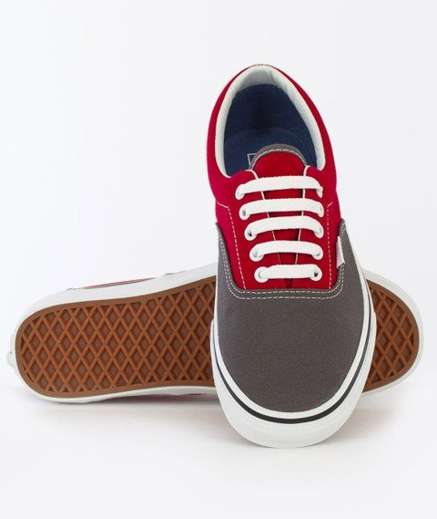 Vans-Era (2 Tone) Pewter/Racing Red