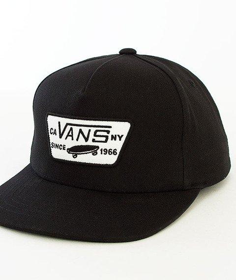 Vans-Full Patch Snapback True Black