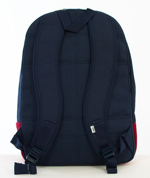 Vans-Old Skool Plus Backpack Rhubarb/Dress Blues