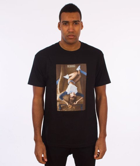 Visual-Divan T-Shirt Black