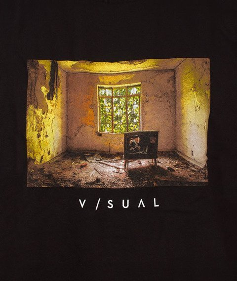 Visual-Kill Your TV T-Shirt Black