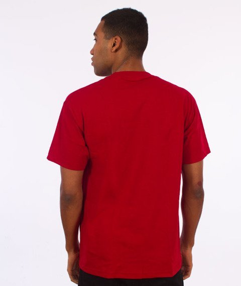 Visual-Twist T-Shirt Cardinal