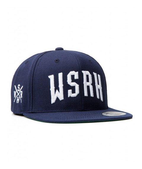 WSRH-Arch Logo Snapback Granatowy