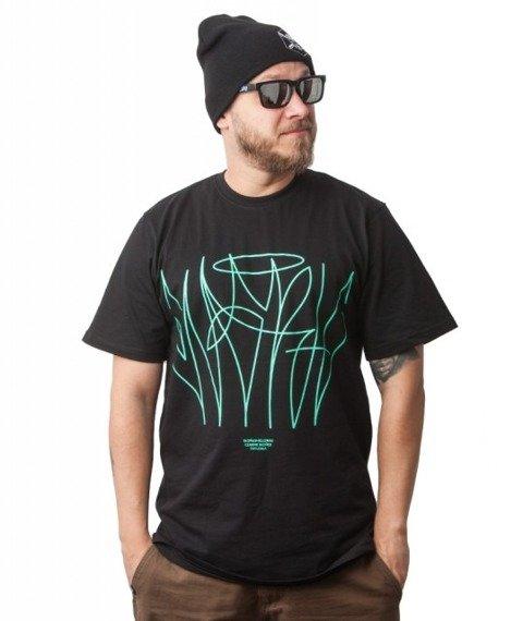 WSRH-Lines T-shirt Czarny
