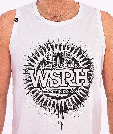 WSRH-Słońce Tank-Top Biały