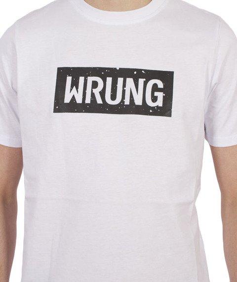 Wrung-Core Logo T-Shirt Biały