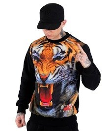Alter Eggo-Wild Tiger Bluza Czarna/Multikolor