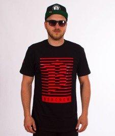 Biuro Ochrony Rapu-Lines T-shirt Czarny