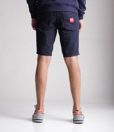 Biuro Ochrony Rapu-New Kwadrat Szorty Krótkie Spodnie Dark Jeans
