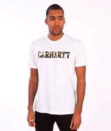 Carhartt-College LT T-Shirt  White/Camo Duck