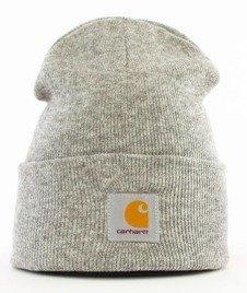 Carhartt WIP-Acrylic Watch Hat Grey Heather