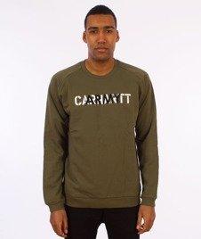 Carhartt WIP-CA Training Sweatshirt Bluza Rover Green/Multicolor