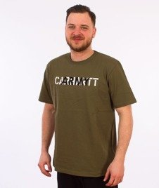 Carhartt WIP-CA Training T-Shirt Rover Green
