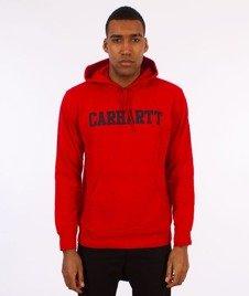 Carhartt WIP-Hooded College Sweat Bluza Kaptur Chili/Navy