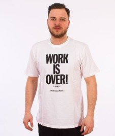 Carhartt WIP-Work Is Over T-Shirt White