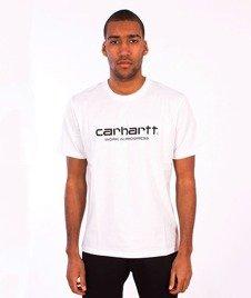 Carhartt-Wip Script T-Shirt  White/Black
