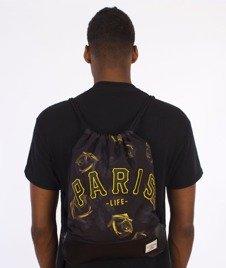 Cayler & Sons-Paris Jaune Gym Bag Black/Yellow