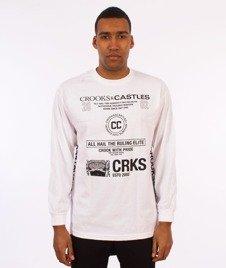 Crooks & Castles-Recognition Longsleeve Biały