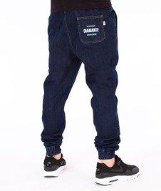 Diamante-Classic Jogger Jeans RM Pants Spodnie Dark Jeans