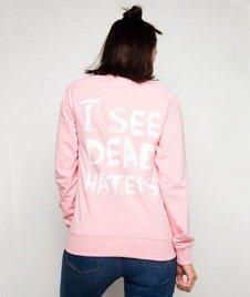 Diamante-I See Dead Haters Bluza Damska Różowa