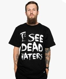 Diamante-I See Dead Haters T-Shirt Czarny