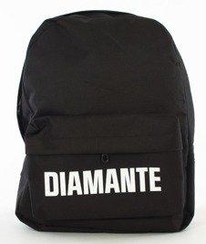 Diamante-LOGO 2 Plecak Czarny
