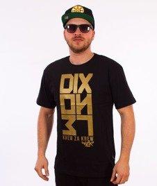 Dixon37-Gold KZK T-Shirt Czarny