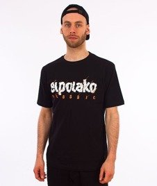 El Polako-Cut Classic T-Shirt Czarny