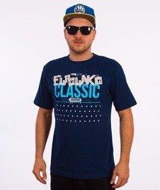 El Polako-Dot T-Shirt Granatowy