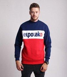 El Polako ELPO NEW Bluza Granatowy/ Czerwony