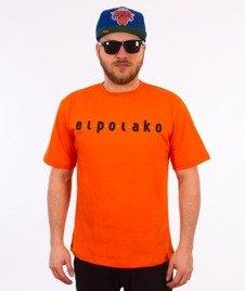 El Polako-Ep Classic T-Shirt Pomarańczowy