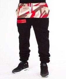 El Polako-Half Triangle Moro Spodnie Dresowe Fit Red
