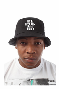 El Polako LETTERS Bucket Hat Czarny